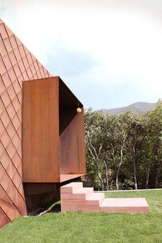 Emigration Canyon - modern - Exterior - Salt Lake City - Sparano + Mooney Architecture