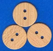 Znalezione obrazy dla zapytania drewniana guziki