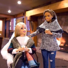 WEBSTA @ barbiestyle - Come après ski with me! Love a cozy afternoon with friends in the mountains. ☕️ #sundance #barbie #barbiestyle