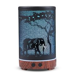 Amazon.com : kobodon Ultrasonic Essential Oil Diffuser, 150ml Metal Aromatherapy Diffusers for Essential Oils, 8 Colors Changing Light & Whisper-quiet for Home, Office Desk, SPA(Elephant) : Beauty Essential Oil Diffuser, Essential Oils, Color Changing Lights, Safari Nursery, Diffusers, Whisper, Aromatherapy, Color Change, Office Desk