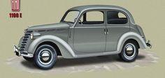 Maserati, Bugatti, Car Camper, Camper Trailers, Campers, Electric Motor, Old Cars, Fiat, Vintage Cars