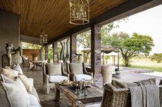 Singita Serengeti House, one of five Singita properties in Tanzania's Grumeti reserve.