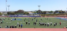 Hanging out with G and friends watching the Dana Hills varsity compete in today's 2014 Air Strike Elite High School Passing tournament http://www.danahillsfootball.com/index.php/airstrike  #dhhs #dhhsfootball #football #airstrike