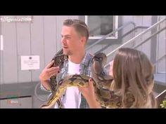 Bindi Irwin & Derek Hough - First meeting - Dancing with the stars - YouTube