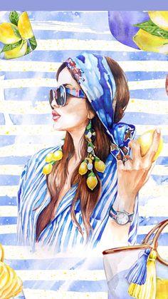 New Pop Art Fashion Sketch Drawings Ideas Art And Illustration, Fashion Illustration Face, Illustrations, Pop Art Fashion, Arte Fashion, Cartoon Kunst, Cartoon Art, Cute Drawings, Drawing Sketches