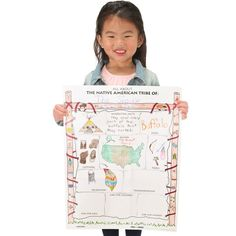 Have students show what they learned during their Native American tribe study! These Ready-To-Decorate™ All About Native American Tribes Posters are a great way to compare and contrast different tribes.