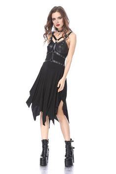 841f6c9e3cd2 DW165 Punk hoop design by DARK IN LOVE. Goth Dress ...