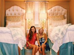 Ole miss dorm room goes viral Ole Miss Dorm Rooms, College Dorm Rooms, Over The Top, Teenage Girl Bedrooms, Girls Bedroom, Man Room, Girl Room, Slimming World, Dorm Room Organization