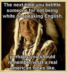 The REAL Americans #truth
