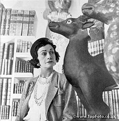 Coco Chanel, French couturier. Paris, about  1960.      RV-313657