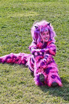Cheshire Cat #cosplay (Alice in Wonderland). Photo by anigate.net