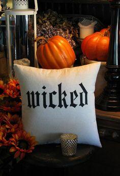 A Black-White-and-Orange Halloween