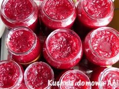 Polish Recipes, Polish Food, Preserves, Nutella, Pickles, Raspberry, Food And Drink, Healthy Eating, Homemade