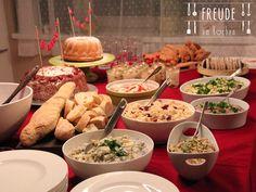 Inspiration für ein veganes Buffets und Partys #vegan - Freude am Kochen