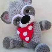 Raccoon, Simply Cute Crochet Pattern - via @Craftsy