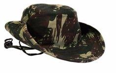 Chapéu Camuflado Redondo - Chapéu de Selva Tropical - Estilo Militar TECIDO  RIP STOP - CEDRO e2b95c1af9a