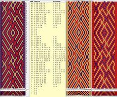 24 tarjetas, 3 colores, repite cada 32 movimientos // sed_482 diseñado en GTT༺❁