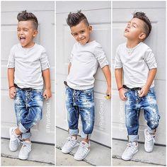 @childsplayclothing has the best jeans!  #dsquared And he sure was enjoying photos in the rain  ☺️ cant u tell lol  #ryansecret #childsplayclothing #fashionkids #kidsfashion #kidswithstyle #igkids #love #dsquared2 #adidas #kidzfashion