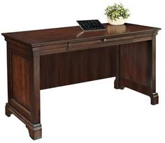 "Huff Writing Desk - Writing Desk - Writing Desks | HomeDecorators.com 30""Hx55""Wx24""D"