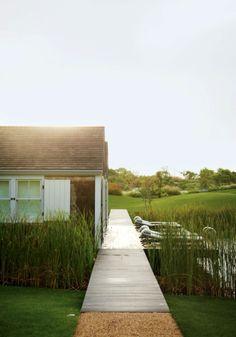 Nantucket Island Garden designed by Piet Oudolf. (NY Highline landscape designer)