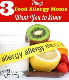 3 Things Food Allergy Moms Want You to Know