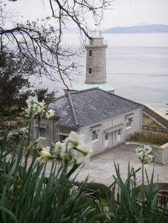 男木島燈台。  Ogijima lighthouse