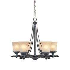 Buy the Designers Fountain Weathered Saddle Direct. Shop for the Designers Fountain Weathered Saddle Six Light Up Lighting Chandelier from the Austin Collection and save. Lodge Lighting, Iron Chandeliers, Hanging Chandelier, Transitional Chandeliers, Chandelier Decor, Designers Fountain, Hanging Lights, Indoor Lighting, Bronze Chandelier