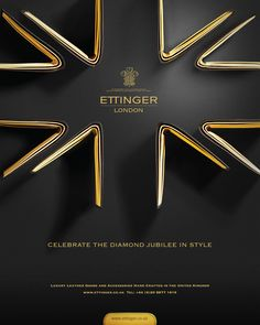 Ettinger Diamond Jubilee advert by DNA Advertising, via Behance