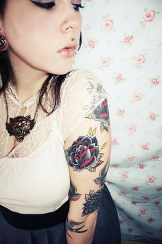 girls with tattoos classy tattoos Check Out http://zombieboy.ca For Best Tattoos Images Ever!