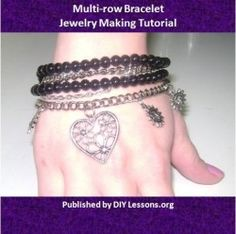 FREE Multi-Row Bracelet tutorial