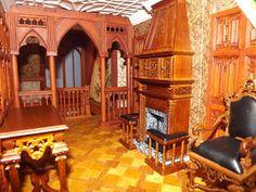 Late Victorian English Manor Dollhouse: 1/12 Miniature from Scratch  http://englishmanordollhouse.blogspot.com/