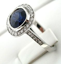 screw the princess Diana ring...I've always loved sapphire engagement rings! (sarah does mean princess in hebrew..lol)