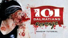 Dalmatians Revenge: Cruella de Vil Halloween Makeup Tutorial | Freakmo a...