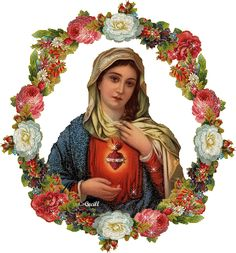 Virgin Mary the Holy flower and Masterpiece of God