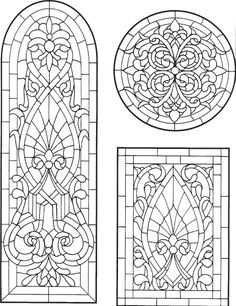 Faux Stained Glass, Stained Glass Designs, Stained Glass Panels, Stained Glass Projects, Stained Glass Patterns, Colouring Pages, Free Coloring, Coloring Books, Glass Painting Designs