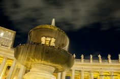 Fontana in Piazza San Pietro - Roma