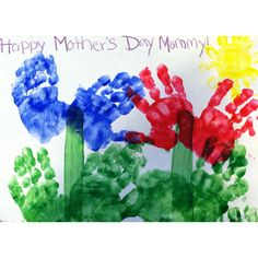 Mothers day project for toddlers