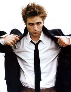 Robert Pattison's great hair!