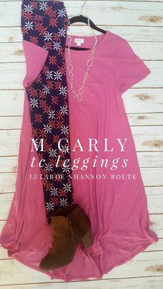 Outfit for sale on my VIP page,  click photo to see!  #lularoe #lularoecarly #lularoeleggings #lularoeoutfit #lularoeshannonroute