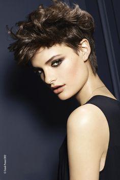 coupe de cheveux courte #cheveux #court #boyish #hair