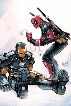 Iron Man / Deadpool