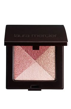 Laura Mercier Shimmer Bloc. Give your skin a boost of radiance. Apply to high cheek bones and decollete.