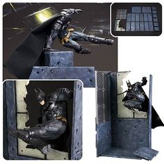 Batman Arkham Knight Batman Version ArtFX+ Statue