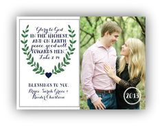 Glory to God in the Highest Christmas Card | Holiday Family Photo Card with Bible Verse on Etsy, $15.00 Christmas Photo Cards, Christmas Time, Pic Pose, Toned Arms, Family Memories, Maternity Pictures, Christmas Inspiration, Christmas Tree Decorations, Family Photos