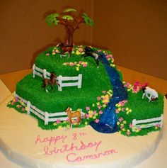 Horse Birthday Cake By GG's Creative Creations