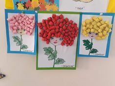 Best 12 Escargot maïs à coller – MyKingList.com – SkillOfKing.Com Autumn Crafts, Fall Crafts For Kids, Art For Kids, Preschool Art Projects, Kindergarten Crafts, Pig Crafts, Craft Stick Crafts, Easy Paper Crafts, Diy And Crafts