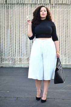 20 Style Tips On How To Wear Culottes, Outfit Ideas | http://Gurl.com