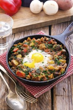 Farmers Market Hash with Eggs | The Iron You | Bloglovin'