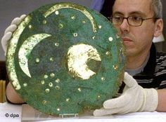 NEBRA STAR DISK - 1700BC BRONZE AGE - EUROPE.