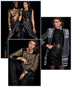 Le lookbook de la collection Balmain x H&M 22